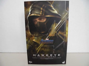 Hot Toys Marvel Avengers Endgame Hawkeye Deluxe Version 1/6 Scale Figure And Box