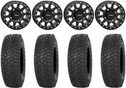 System 3 Sb-3 Black 15 Wheels 35 X Comp At Tires Can-am Renegade Outlander
