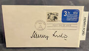 Henry Ford Signed Fdc First Day Cover Autograph-100-aithentic