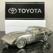 Toyota 2000gt Cigarette Case Metal Car/accessory Case Mint State