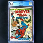 Marvel Tales 35 1972 💥 Cgc 9.6 💥 Only 2 Higher Spider-man Marvel Comic