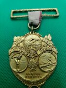 1927 Dieges And Clust 21st Annual Regatta Gold Medal. Kennywood Park