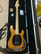 Music Man Ernie Ball Sting Ray Made In Usa Electric Bass Guitar With Hard Case