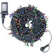 Christmas String Lights Outdoor Indoor Fairy Lamp Tree Party Decor 300 Led 105ft