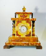 Clock From Amber