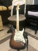 Fender American Special Sunburst Stratocaster Electric Guitar Made In Usa