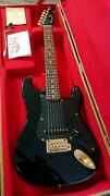 Bill Lawrence Bcor-mb Salmon Model Mini Made In Japan Guitar S/n 31145 And Case