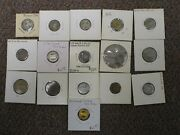 Lot Collection 16 Good For One Fare Transit Tokens