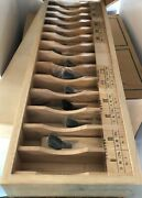 Japanese Wood Block Hand Planes Two Boxes Over 20 Handmade Handcrafted Gorgeous