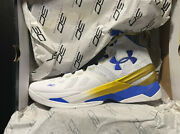 Mens Under Armour Ua Curry 2 Gold Rings Size 12