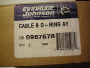 Omc 987678 Shift Cable Assembly Free Freight