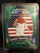 Lamelo Ball Green /8 Panini Prizm Global Prospects Rookie Card Short Print