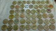 Lot 4 Of 50 Different - Wooden Nickels - Nice - All 0ver 30 Years Old