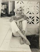 George Barris Marilyn Monroe Untitled 11x14 Photo From Orig.negative Unsigned