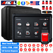 Heavy Duty Truck Scanner Diagnostic Tool Bluetooth All System And Tablet Dpf Abs