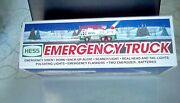 1996andnbsphess Truck Toy Emergency Truck New In Box