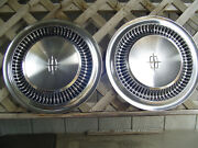 Vintage 1964 1965 Lincoln Mark Continental Premier Town Car Hubcaps Wheel Covers