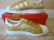 Rare New Adidas Ladies 80s Running Shoes Gold Year Of The Horse W/box 7.5