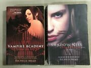 Lot Of 2 Books By Richelle Mead - Vampire Academy And Shadow Kiss, Trade Paperback