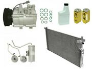 Ryc Remanufactured Complete Ac Compressor Kit Ai44d Eg189 With Condenser