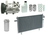 Ryc Remanufactured Complete Ac Compressor Kit Ah51 Fg427 With Condenser