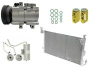 Ryc Remanufactured Complete Ac Compressor Kit Ai44b Eg189 With Condenser