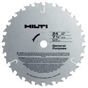 W-csc 7-1/4 In. X 24-teeth General Purpose Circular Saw Blades Contractor's 50-
