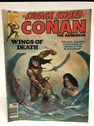 Vintage The Savage Sword Of Conan The Barbarian Lot Of 6