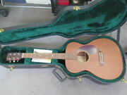 martin And Co 00-15 Grand Concert Acoustic Guitar And Hard Case Usa Made Sold As Is