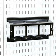 Wall Control Drill Holder Power Tool Storage Rack - Compact Impact Drill Battery
