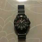 Luminox Black Stainless Steel Manand039s Watch Shipped From Japan