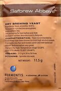 Safbrew Be-256 Abbaye Yeast 11.5g For Home Brew Beer Making