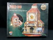 New Wrebbit 3d Jigsaw Puzzle Bavarian Clock - 404 Pieces Real Working Clock