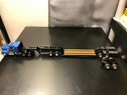 Asam Smith Kenworth Tractor W/ Trailking Lowloader - Hand Built Model Boxed