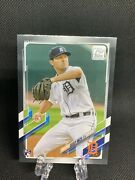 Casey Mize Sp Rc Black Parallel 51/70 2021 Topps Series 1 Tigers 🔥🔥