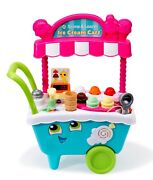 Leapfrog Scoop And Learn Ice Cream Cart, Play Kitchen Toy For Kids New Fast Ship
