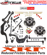Xrf Lifetime Ball Joint Tie Rod Assistlink Control Arm Kit 07-15 Chevy Gmc Buick