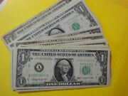 Collection Of Authentic Negotiable Undamaged 27 Us Federal Reserve Notes 27.00