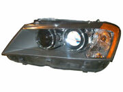 Left - Driver Side Headlight Assembly For 2011-2014 Bmw X3 2012 2013 Z855tx