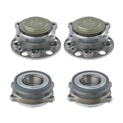 Moog Front And Rear Wheel Bearing And Hub Assembly Kit For Mercedes-benz W222
