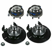 Moog Front And Rear Wheel Bearing And Hub Assemblies Kit For Ford Mercury 02-05