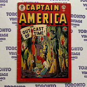 Captain America 73 [1949 Timely/marvel] Hard To Find One This Nice