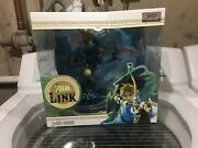 First 4 Figures Legend Of Zelda Breath Of The Wild Link Pvc Statue New Sold Out