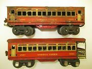 Lionel Passenger Cars 1690 Pullman And 1691 Observation