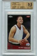 2009-10 Topps Chrome 96 Blake Griffin Rookie Card /999 - Bgs 9.5