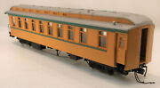 On3 Brass Psc Denver And Rio Grande Western Parlor/buffet Car Chama Custom Paint