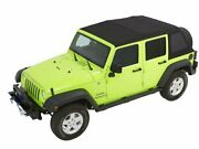 Soft Top For 2007-2018 Jeep Wrangler 2017 2008 2009 2010 2011 2012 2013 H545mh