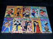Ranma 1/2 Anything Goes Martial Arts Lot Of 10 Vhs Tapes English Dubbed