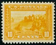 400 Mint Og Nh, Xf 1913 10c Panama-pacific Expo, Large And Well Centered Stamp