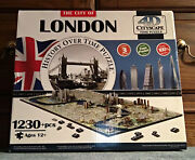 New Open The City Of London History Over Time 4d Cityscape Puzzle 1100 + Pcs